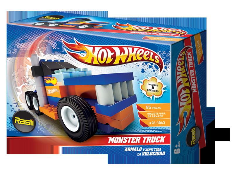 Monster Wheels Truck RastiProductos RastiProductos Hot IDE29H