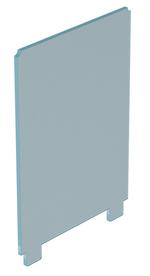 T29 Vidrio para evntanal con espiga