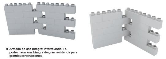 T4 Módulo de 4 encastres en línea